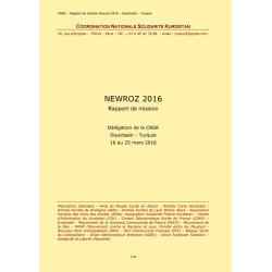 Délégation française au Kurdistan - Newroz 2016