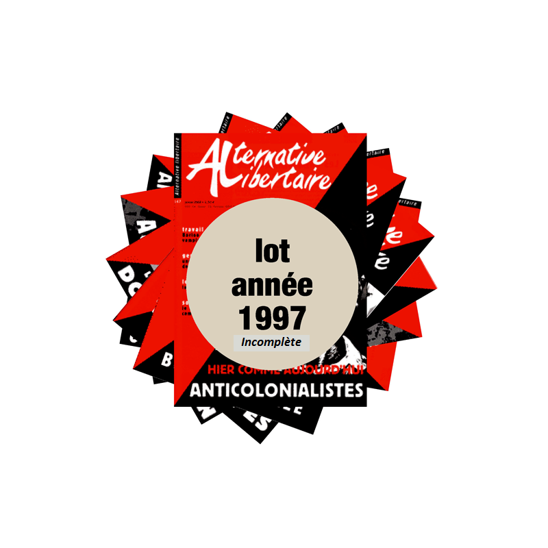 Lot : les journaux de l'année 1997 année incomplète