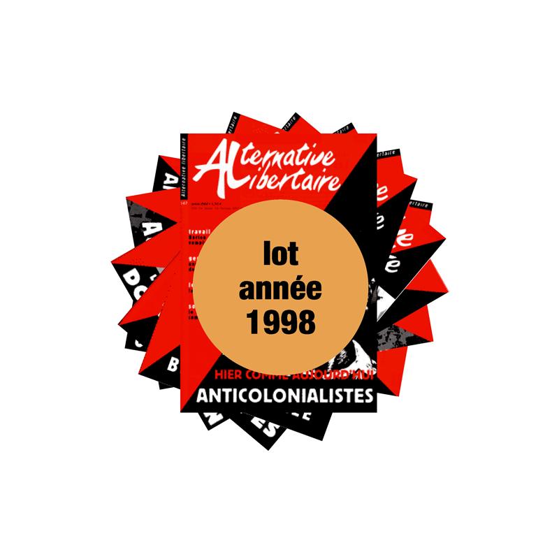 Lot : les journaux de l'année 1998