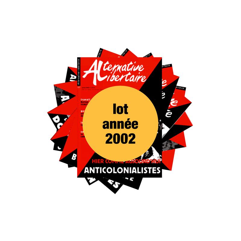 Lot : les journaux de l'année 2002