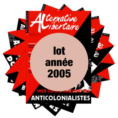 Lot : les journaux de l'année 2005