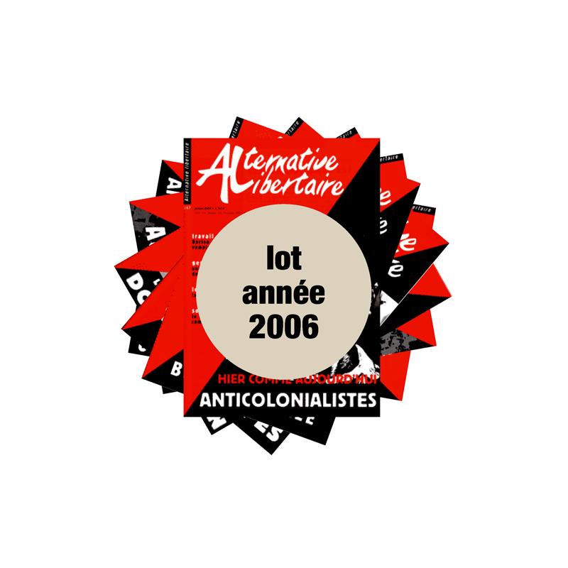 Lot : les journaux de l'année 2006