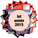 Lot : les journaux de l'année 2015