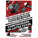 (x100) Autocollants ''Construisons un autre futur''