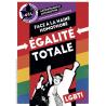 (x100) Autocollants ''Face à la haine homophobe''