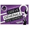 (x100) Autocollants ''Grève générale des femmes''
