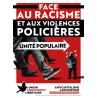 (x100) Autocollants ''Face au racisme''