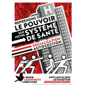 (x50) Affiches ''Reprenons le pouvoir sur notre système de santé''